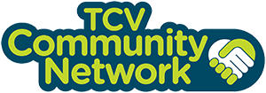 the conservation volunteers community network logo